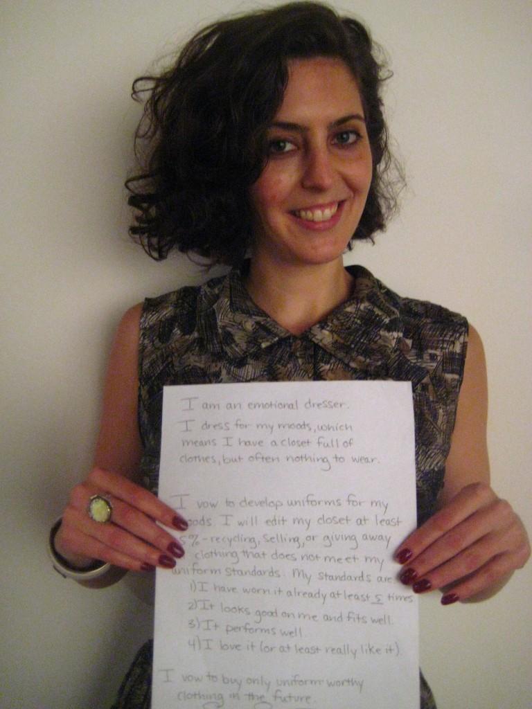 Sarah's Manifesto