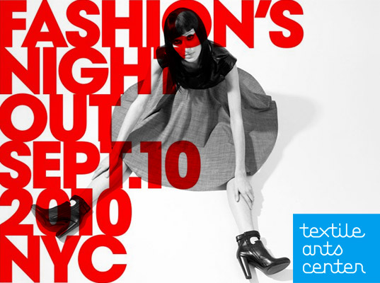 Fashion Night Out 2010 Flyer